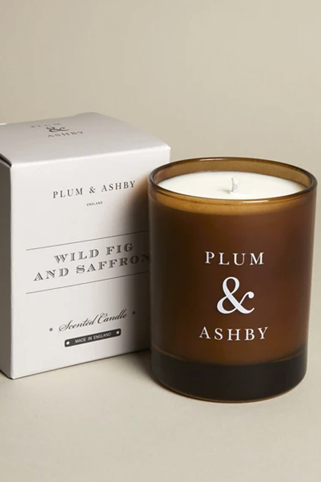 Plum & Ashby Wild Fig & Saffron Candle - The Mercantile London