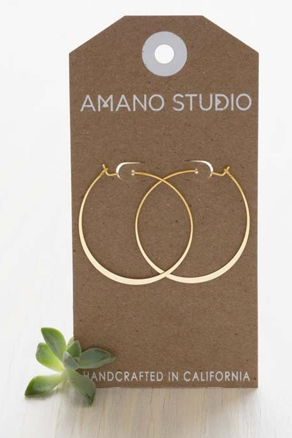 Amano Round Hoops - The Mercantile London