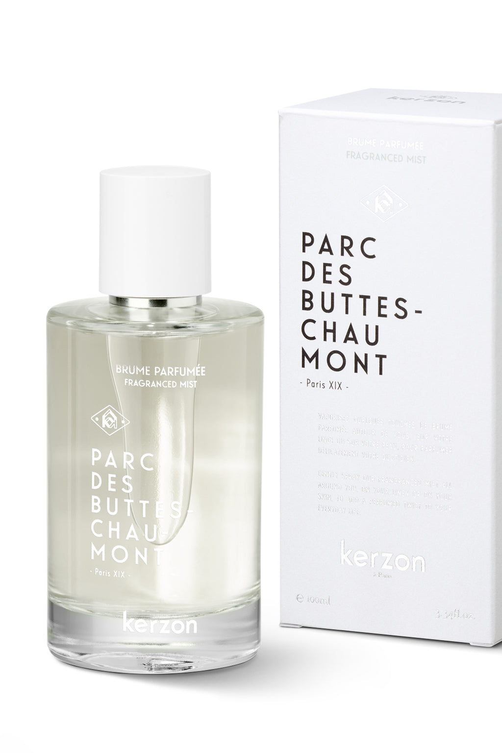 Kerzon Parc Des Buttes-Chaumont Eau De Toilette - The Mercantile London