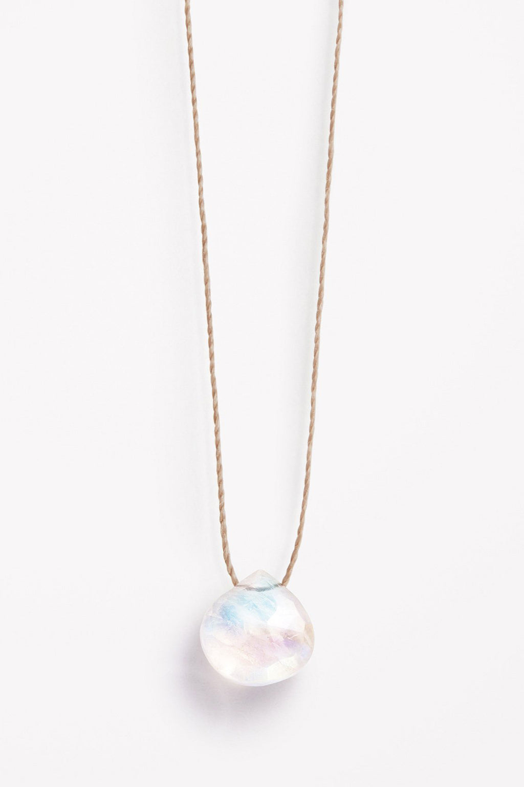 Wanderlust Life Rainbow Moonstone Necklace - The Mercantile London