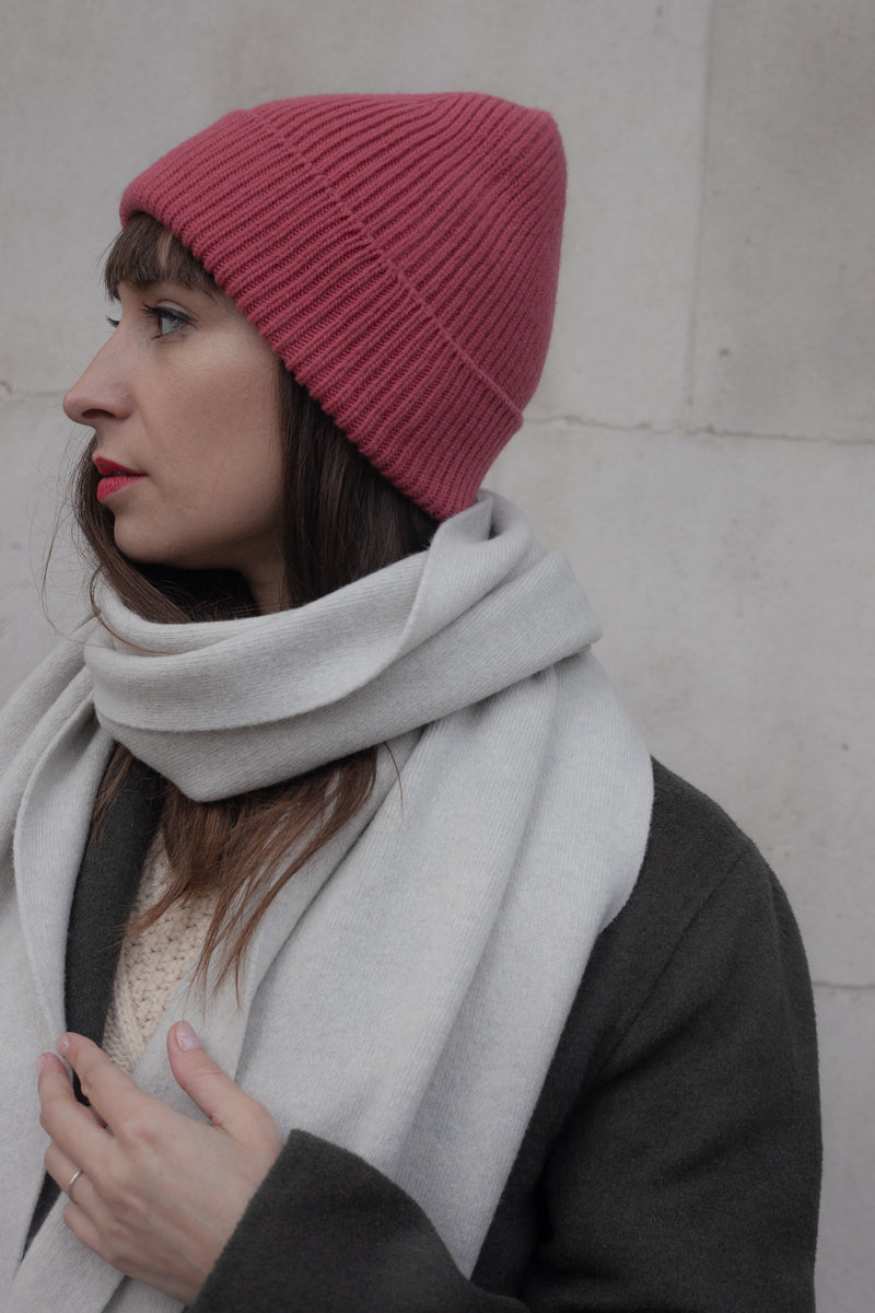 Colorful Standard Raspberry Pink Beanie - The Mercantile London