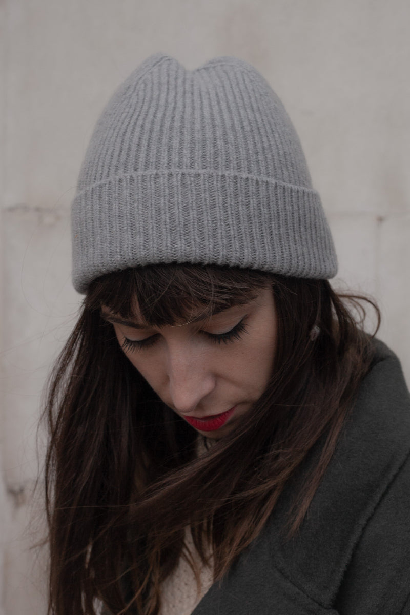 Colorful Standard Heather Grey Beanie - The Mercantile London