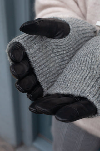 Markberg Helly Black & Grey Gloves