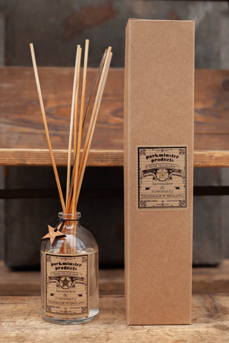 Parkminster Lavender & Rosemary Reed Diffuser - The Mercantile London