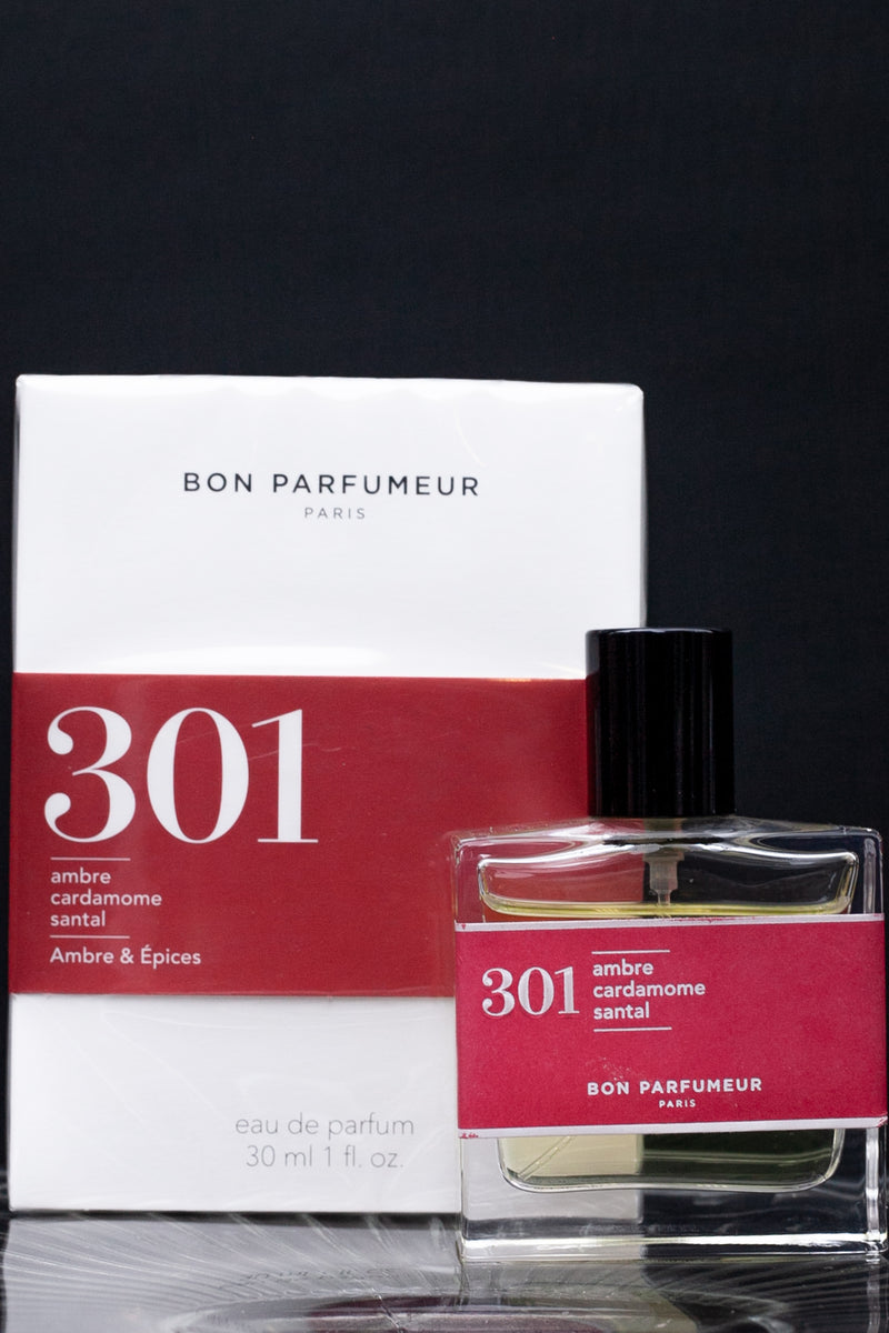 Bon Parfumeur 301 Amber, Cardamom, Sandalwood Perfume - The Mercantile London