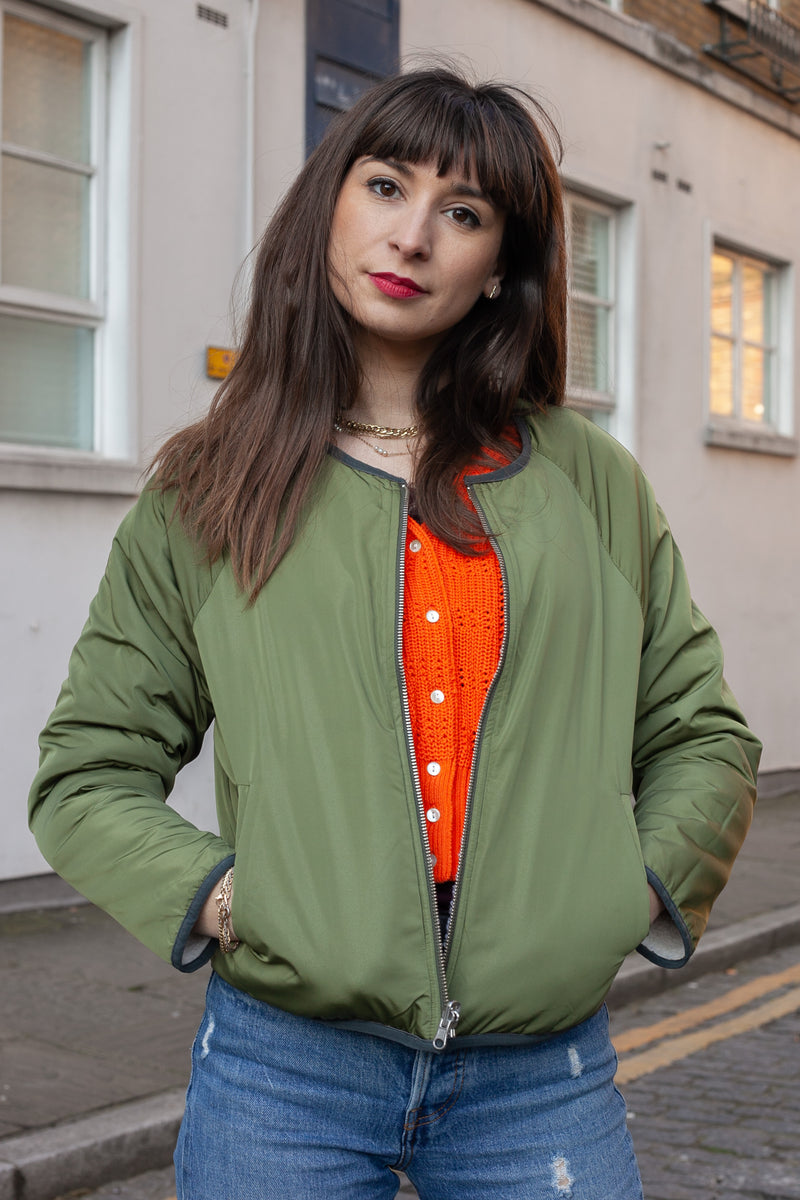 Bellerose Belay Reversible Ecru Jacket - The Mercantile London