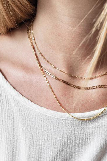 SS21 Transformation Freya Figaro Chain Necklace - The Mercantile London