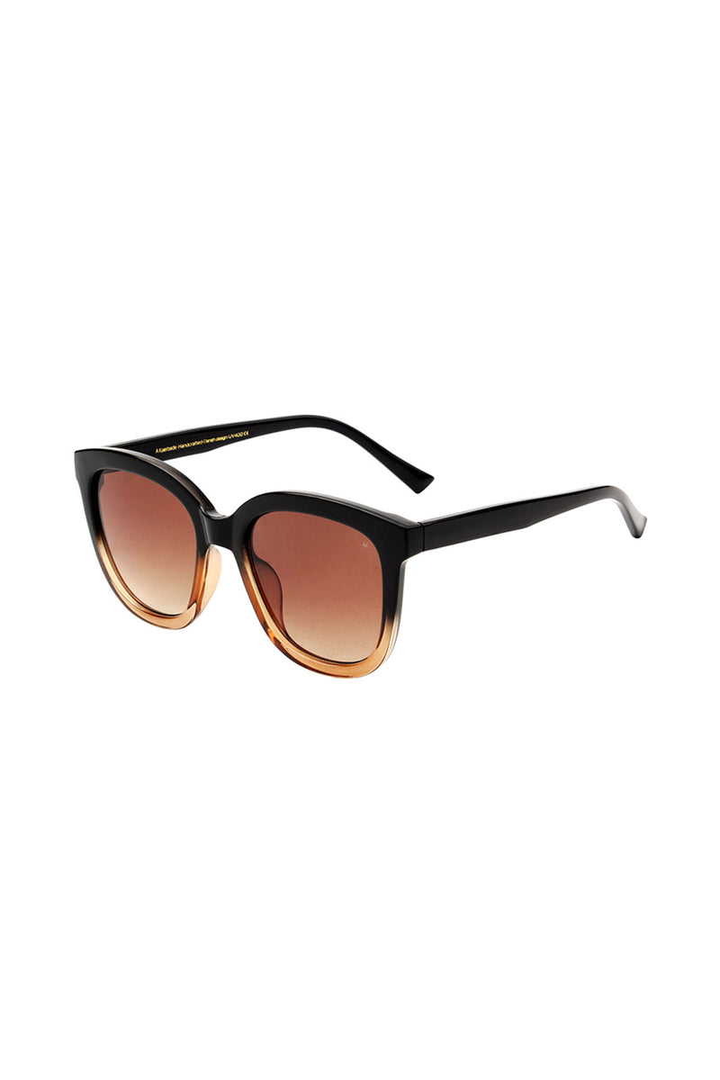 A Kjaerbede Billy Black Brown Sunglasses - The Mercantile London