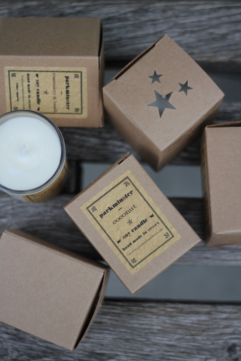 Parkminster Coconut Candle - The Mercantile London