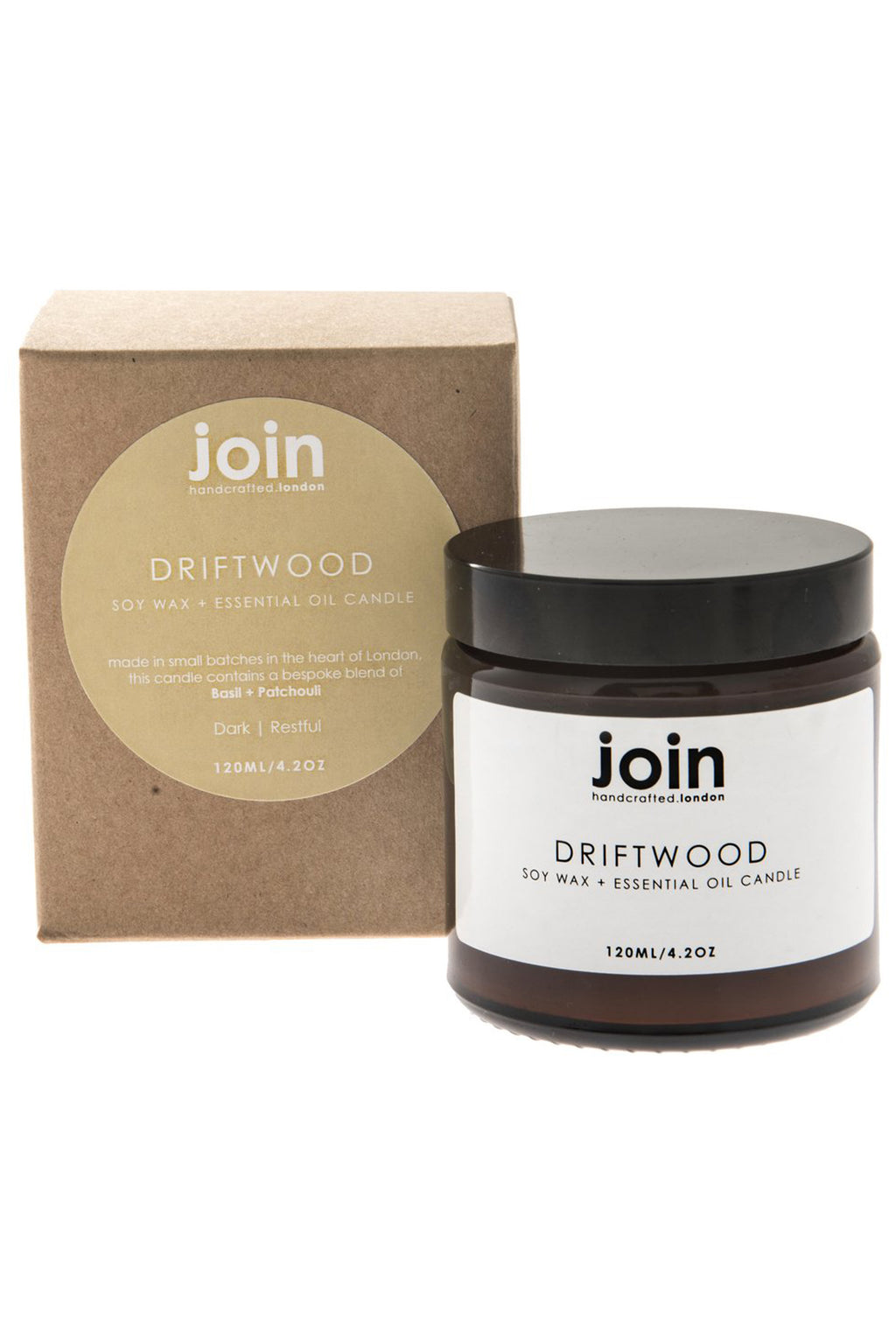 Join Driftwood Candle - The Mercantile London