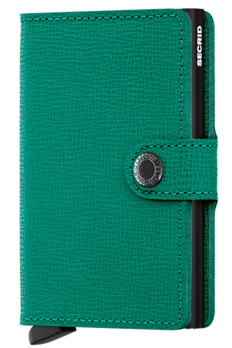 Secrid Crisple Emerald Miniwallet - The Mercantile London