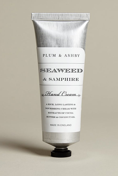 Plum & Ashby Seaweed & Samphire Hand Cream Tube - The Mercantile London