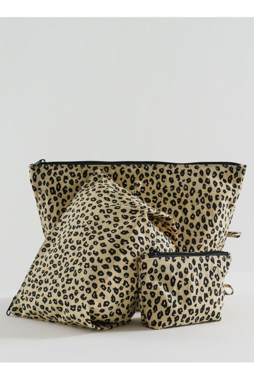Baggu Go Pouch Honey Leopard Set - The Mercantile London