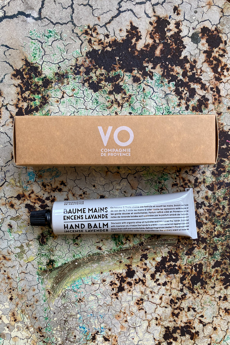 Compagnie De Provence Incense Lavender Hand Balm - The Mercantile London