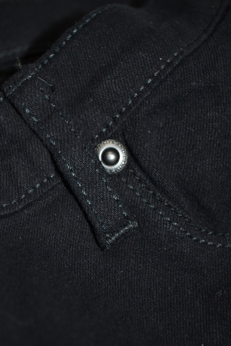 Dr Denim Plenty Black Jeans - The Mercantile London