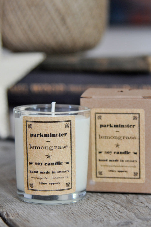 Parkminster Lemongrass Candle - The Mercantile London