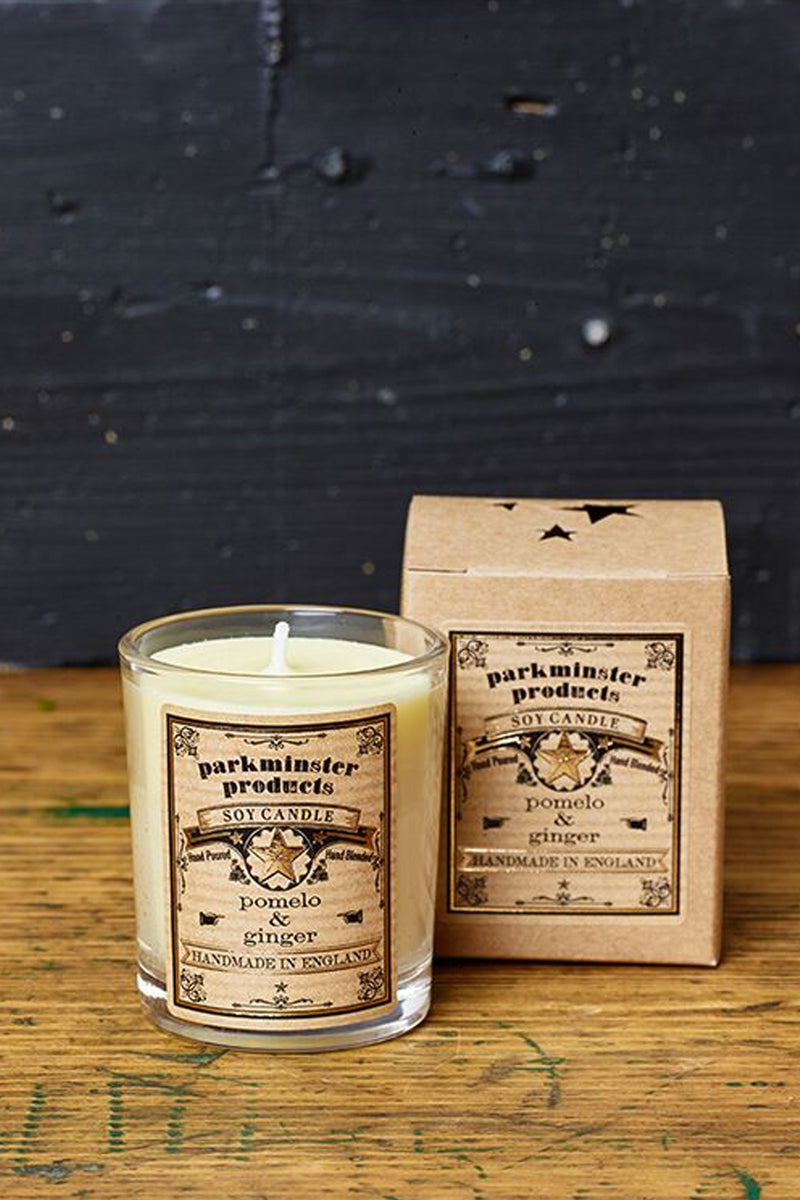 Parkminster Pomelo & Ginger Candle - The Mercantile London