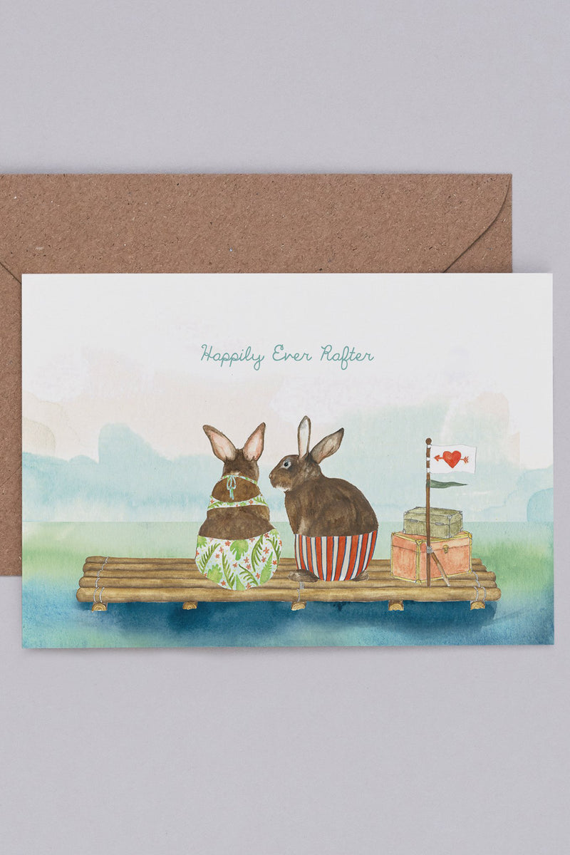 Mister Peebles Happily Ever Rafter Card - The Mercantile London