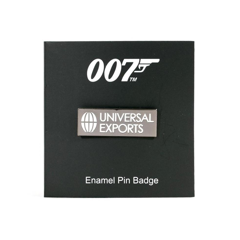 James Bond Universal Exports Pin Badge