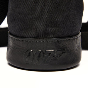 007 Nappa Leather & Canvas Bottle Bag