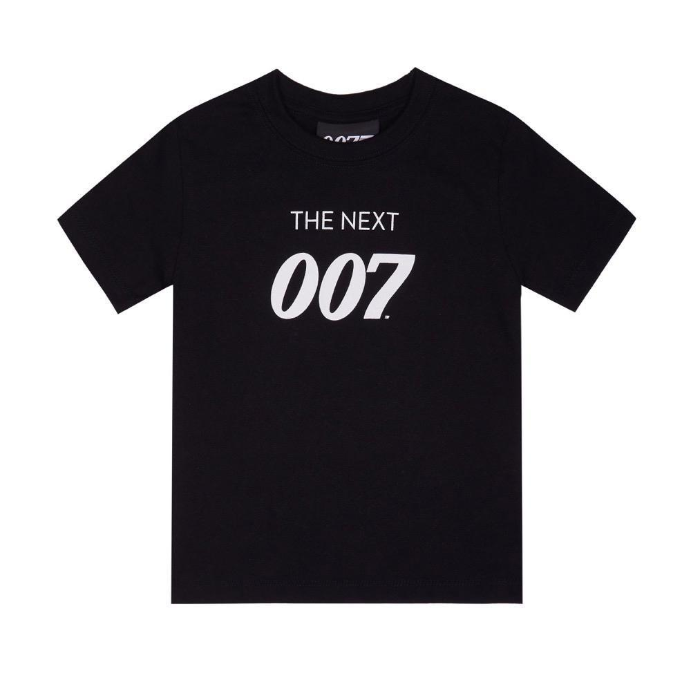 The Next 007 Kids Black T-Shirt