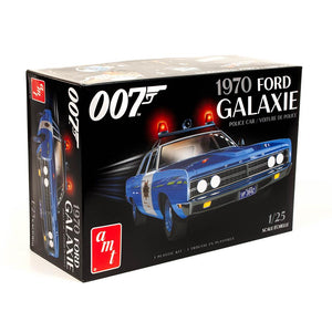 James Bond Ford Police Car Model Kit - Diamonds Are Forever Edition - by AMT