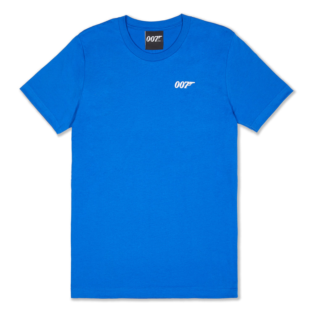 BOND IN THE USA - T-SHIRT (ROYAL BLUE)