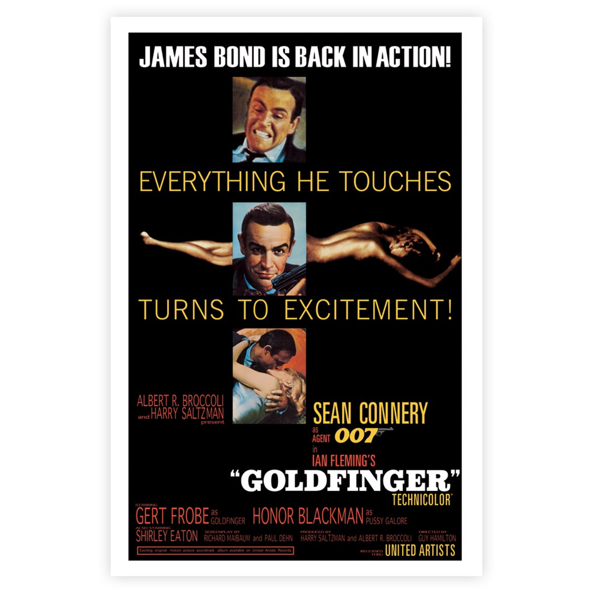 Goldfinger Maxi Poster