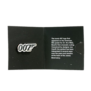 James Bond 007 Logo Pin Badge