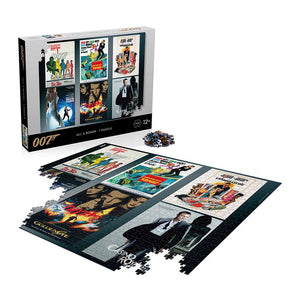 James Bond 007 Debut Poster 1000 Piece Puzzle - (Pre-order)