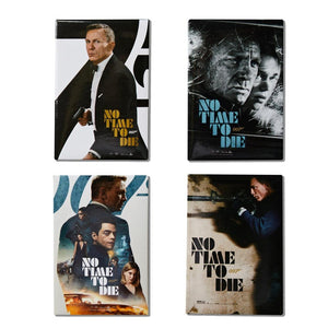 James Bond No Time To Die Poster Magnet Set