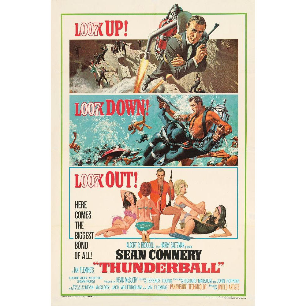 Thunderball Fine Art Print - Numbered Edition (Unframed)