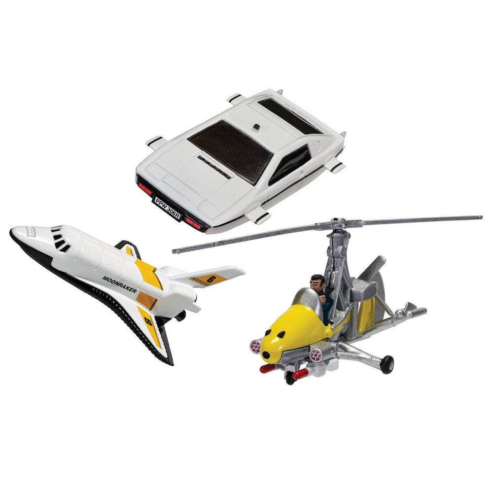 James Bond Model Vehicle Collection - Little Nellie, Lotus Esprit & Moonraker Space Shuttle - By Corgi (Pre-order)
