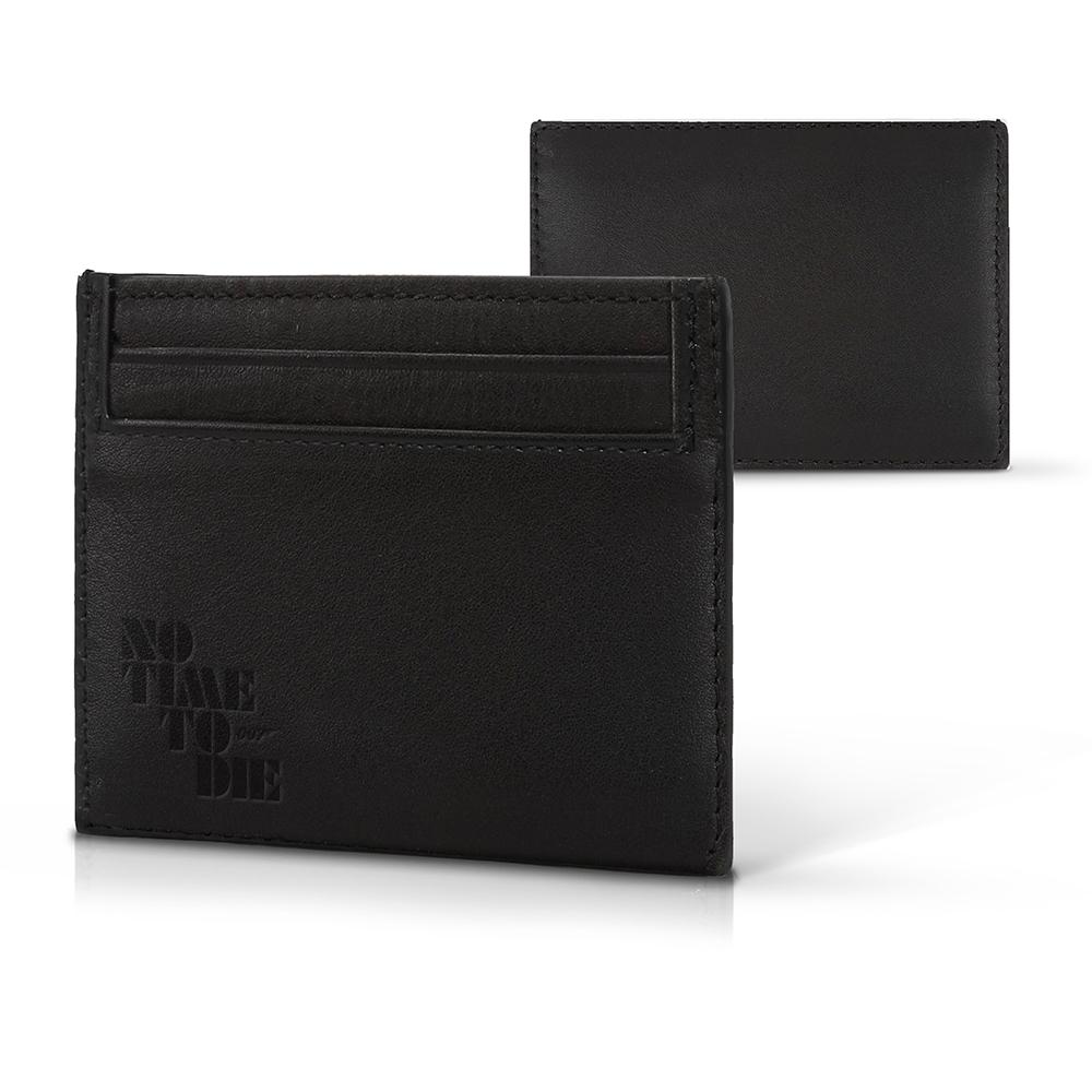 No Time To Die Leather Card Wallet