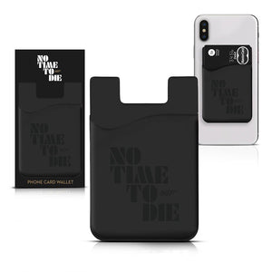 No Time To Die Phone Card Wallet