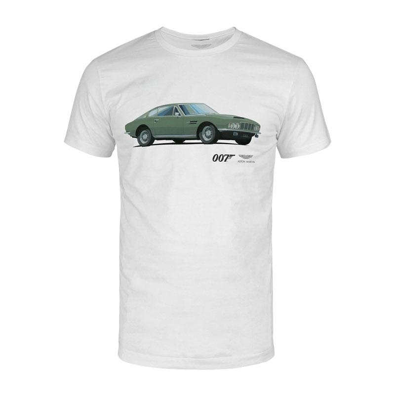 Aston Martin DBS T-Shirt - On Her Majesty's Secret Service Edition - by Aston Martin - 007STORE