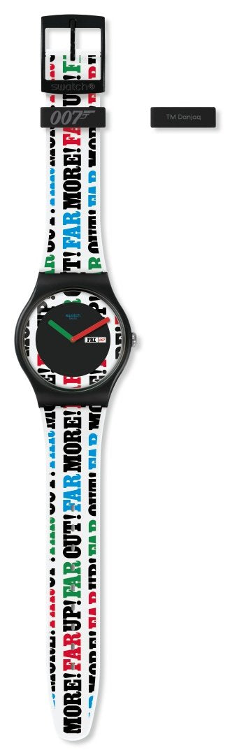 007 Swatch Watch - On Her Majesty's Secret Service Limited Edition (Pre-order)