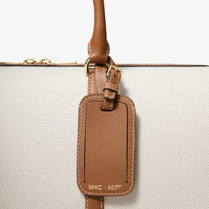 MKC x 007 Bond Cotton Canvas & Leather Duffle Bag - by Michael Kors Collection