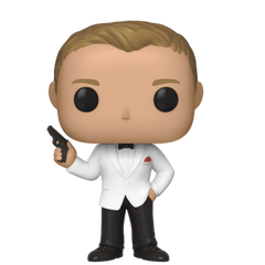 James Bond Pop! Figure - Spectre Edition - By Funko
