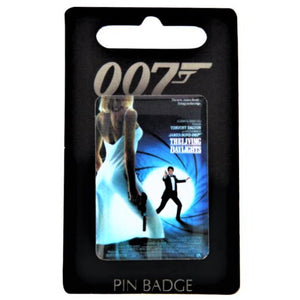 The Living Daylights Pin Badge