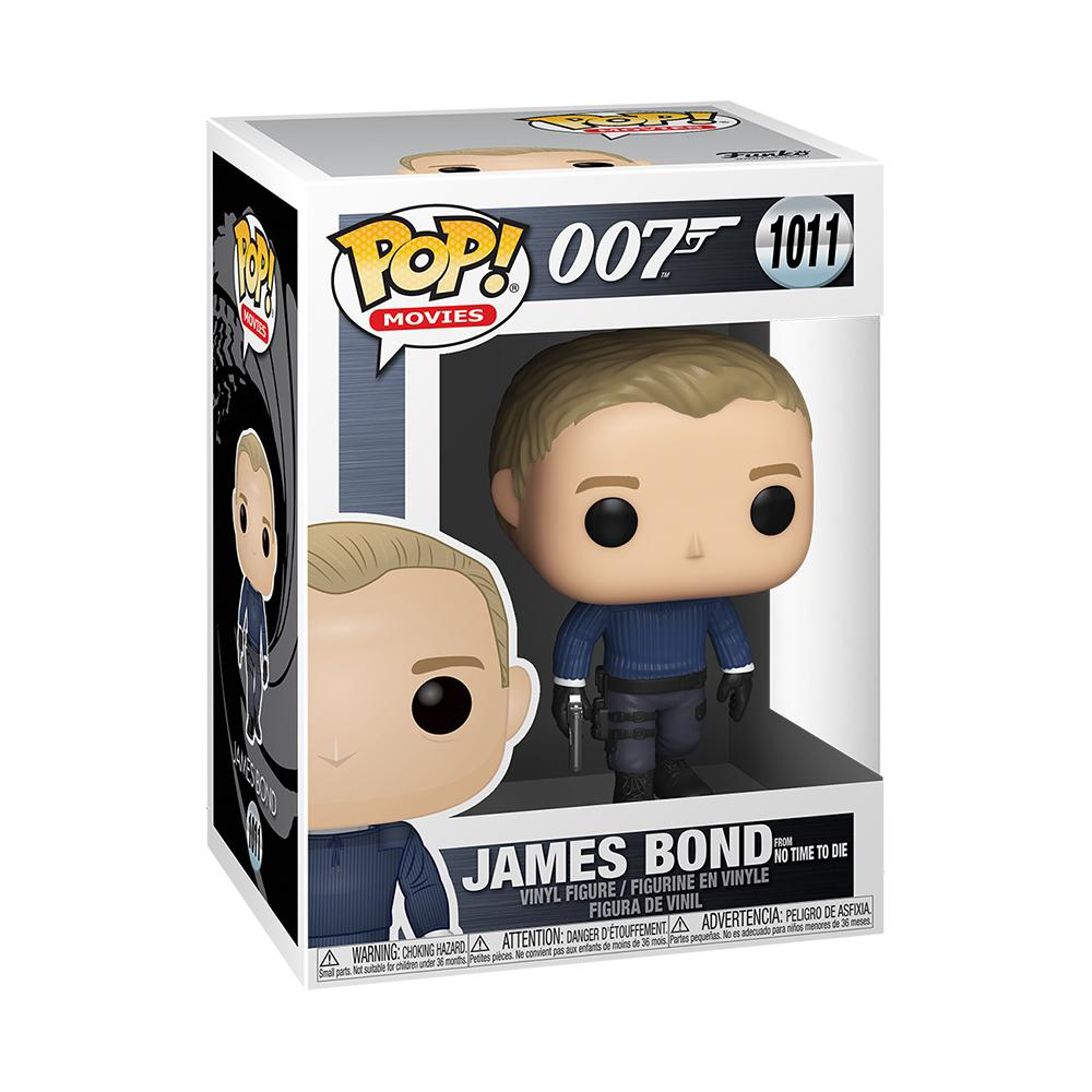 James Bond Pop! Figure - No Time To Die Edition - By Funko