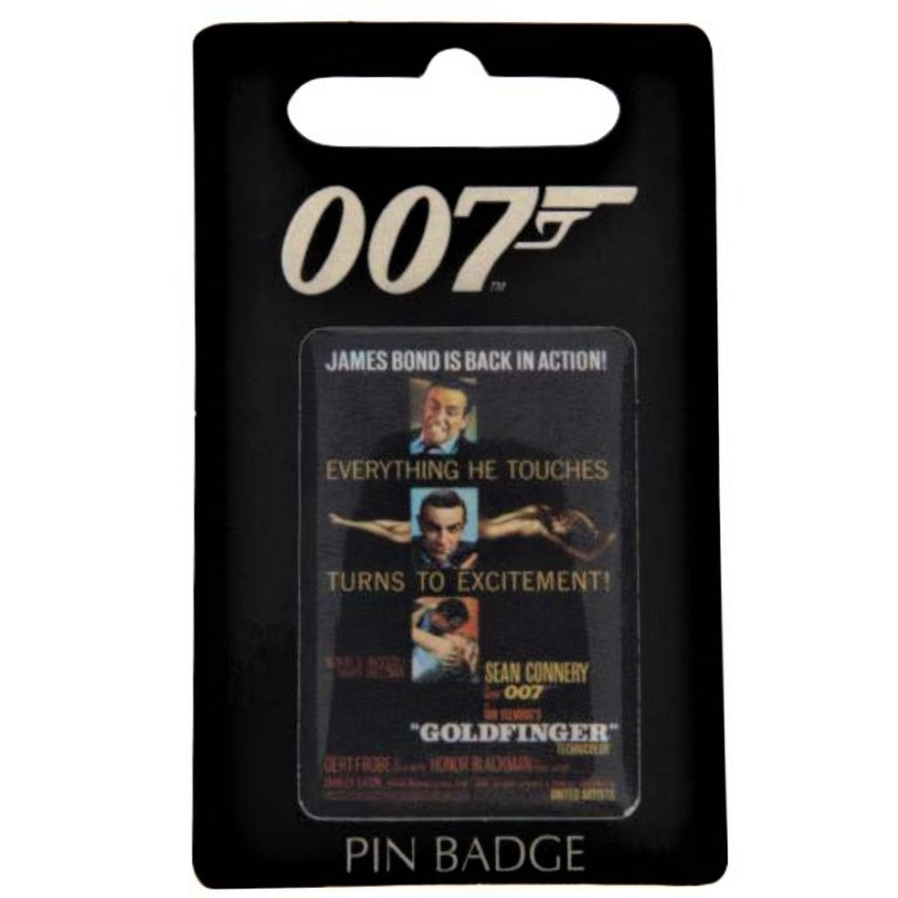 Goldfinger Pin Badge