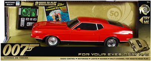 007 Ford Mustang 1:14 Scale Remote Control Car - Diamonds Are Forever Edition - By Toy State - 007STORE