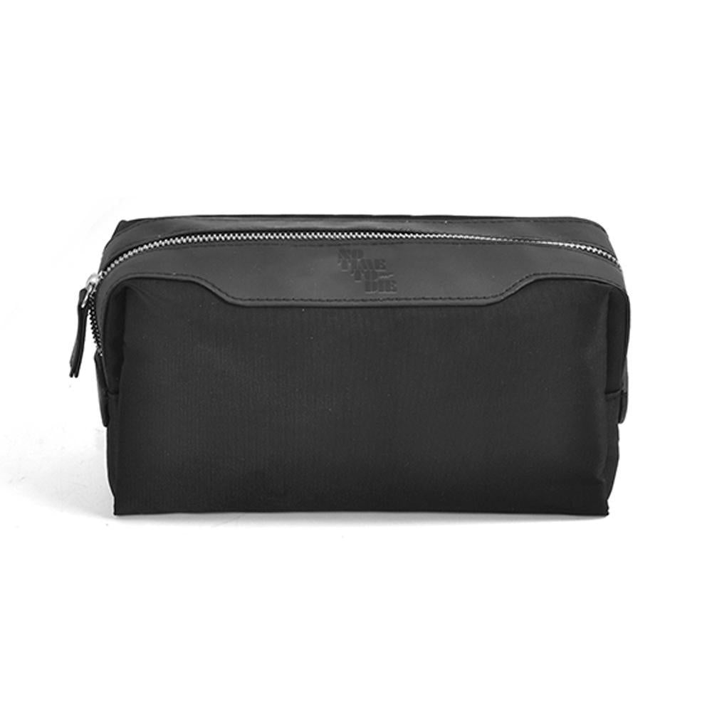 Black Canvas Wash Bag - No Time To Die Edition