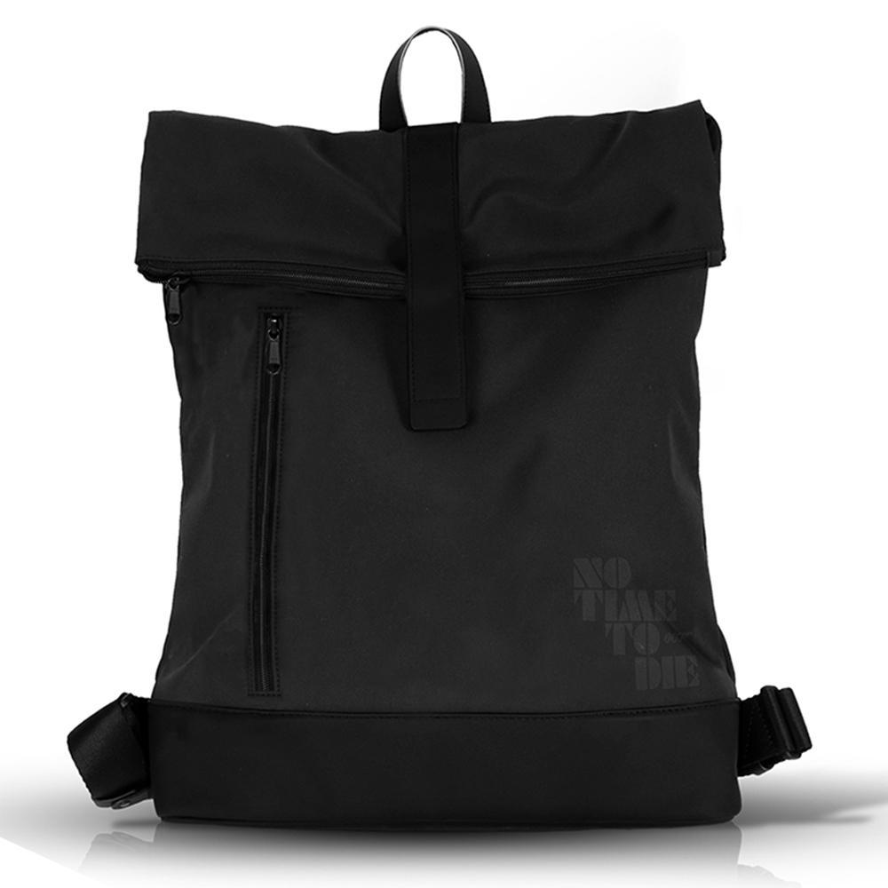 Black Roll-top Backpack No Time To Die Edition