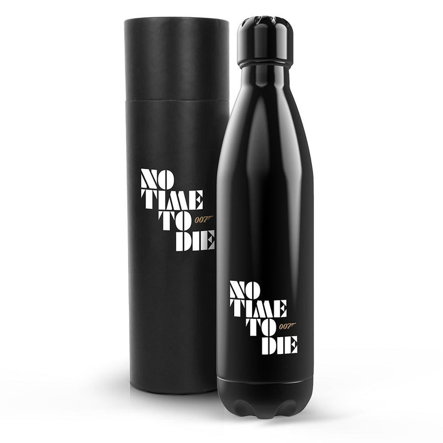No Time To Die Insulated Water Bottle (500ml)