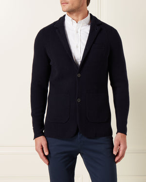 Cashmere Milano Knit Jacket - Goldfinger Edition - By N.Peal