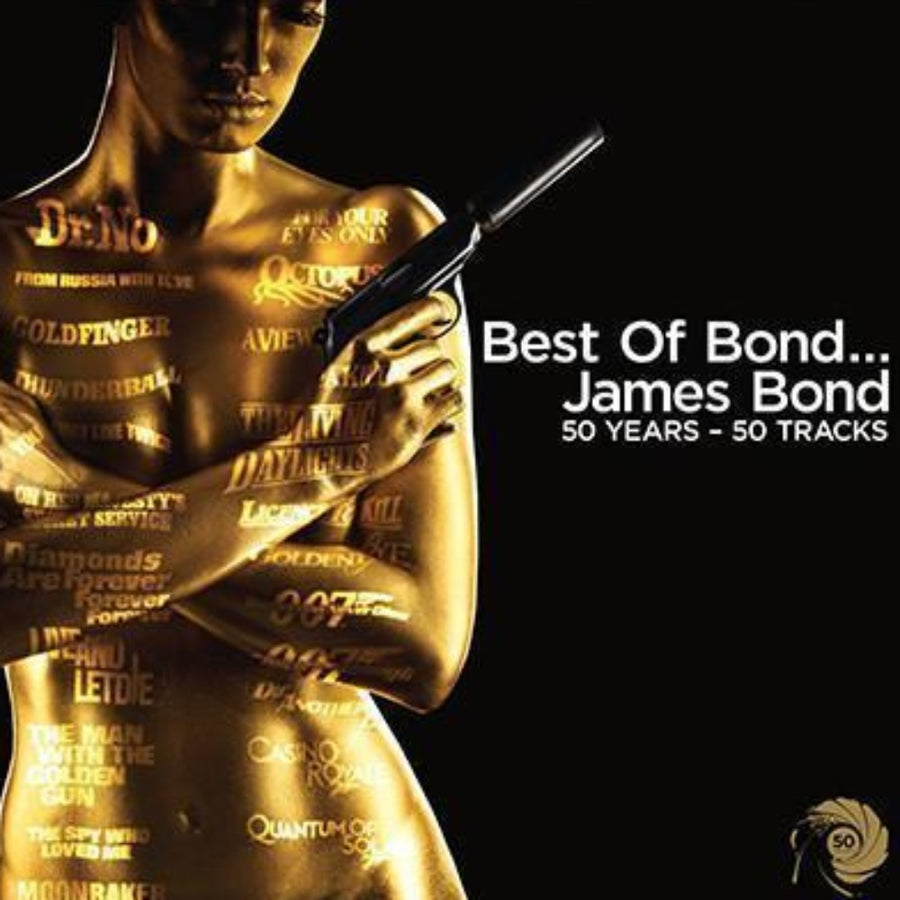 Best Of Bond Music CD... James Bond: 50 Years, 50 Tracks