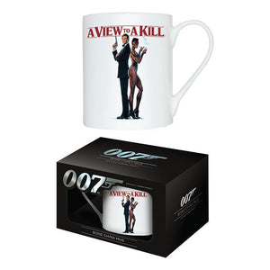 A VIEW TO A KILL - BONE CHINA MUG