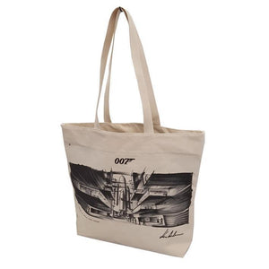 MOONRAKER (1979) CONCEPT ART TOTE BAG